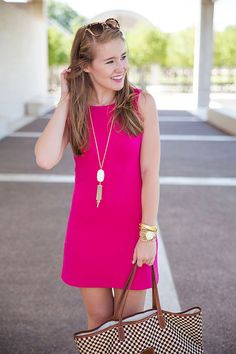 the little pink dress
