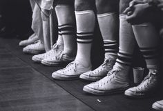 Vintage Kicks and Vintage Hardwood -- UA Men's Basketball in Foster Auditorium, 1964.