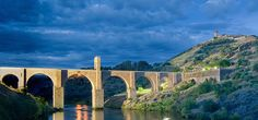 The Roman bridge of Alcántara, Caceres - Spain