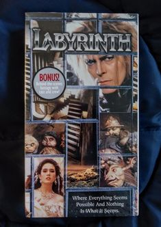 Labyrinth (VHS, 1999) Brand New!  $12.99 Free Shipping. See Now on EBAY.