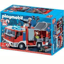 playmobil pompier = 35 euros