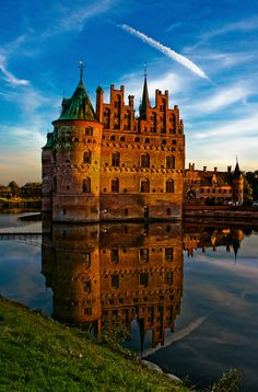 Egeskov Castle, Denmark (by Old Creeper Mandias) - All things Europe