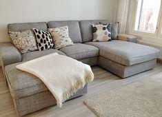 Esittelyssä sohva: Ikea Kivik | SOMETHING SMALL                                                                                                                                                                                 More