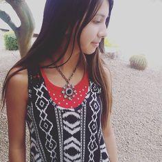 """""""Rhinestone medallion necklace. $7.50 #etsy #etsyshare #etsyseller #etsyowner #giftsforher #etsyshop #necklacecandy #necklace #jewelry #fashion…"""""""