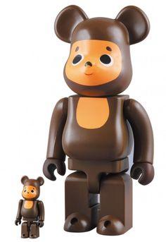 F/S Medicom Toy BE@RBRICK 400% and 100% set Cheburashka Bearbrick Figure #MEDICOMTOY