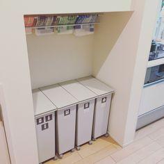 ストレスにさようなら!簡単便利な華麗なるゴミ袋収納術   RoomClip mag   暮らしとインテリアのwebマガジン