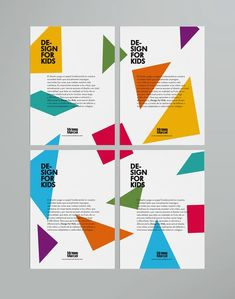 41 Ideas For Design Poster Kids Inspiration Print Layout, Layout Design, Design Art, Print Design, Logo Design, Design Model, Kids Graphic Design, Graphic Design Inspiration, Graphic Prints