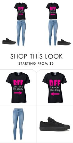 """Bestfriend"" by akosheba ❤ liked on Polyvore featuring Converse"