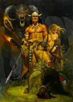 Conan by Manuel Sanjulian