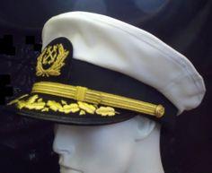 Vintage, Nautical Captain's  Yachting Cap,