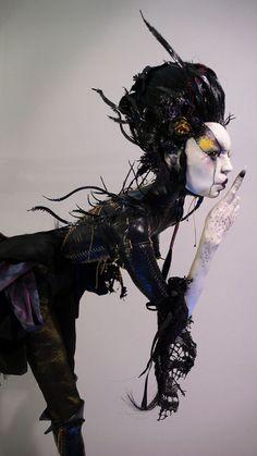 Virginie Ropars - Poupées gothico-féeriques • Artistes • La Lune Mauve
