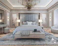 Modern Luxury Bedroom, Luxury Bedroom Design, Master Bedroom Interior, Room Design Bedroom, Bedroom Furniture Design, Luxurious Bedrooms, Home Decor Bedroom, Modern Classic Bedroom, Interior Design