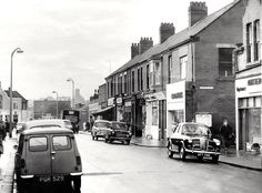 Sunderland Echo, Barbary Coast, Back In Time, 1960s, Photographs, Street View, Sea, Black And White, History