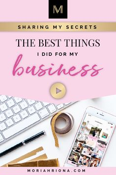 I'm sharing 7 tips for how to grow your business this year—including business coaching, small business education, marketing, passive income, and more! Business Marketing Strategies, Small Business Marketing, Business Branding, Online Business, Content Marketing, Internet Marketing, Media Marketing, Digital Marketing, Business Education