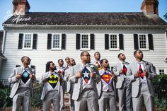 #GroomSquadGoals! Head to the blog now to check out more from groom, Adam and…