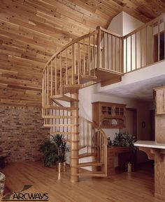 Spiral Stairs | Spiral Staircases | Custom Spiral Staircase                                                                                                                                                                                 More