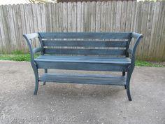 "double chair bench (34)  from "" myrepurposedlife.net """