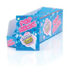 Looking for a new twist on an old classic candy? Cotton Candy Pop Rocks will do the trick.