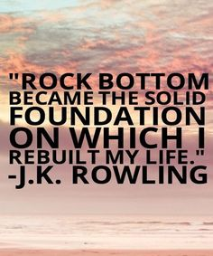 Became The Solid Foundation- Life Quotes