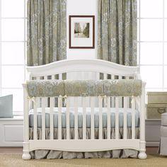 Stonewash Linens Perless Crib Bedding
