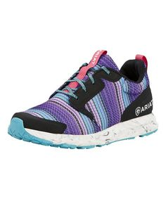 Ariat Purple Serape Mesh Fuse Sneaker | zulily