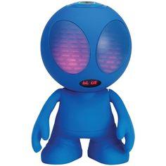 Supersonic Bluetooth Alien Portable Speaker (blue)