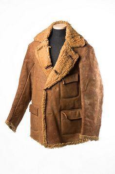 Man's heavy sheepskin coat, c. 1893. Charleston Museum