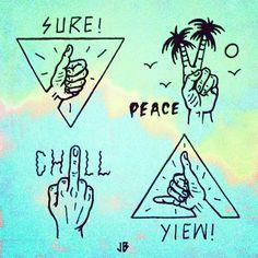 .@jamiebrowneart | An assortment of gestures ~ Throw em' up Thursdays #jamiebrowneart #thursday... | Webstagram