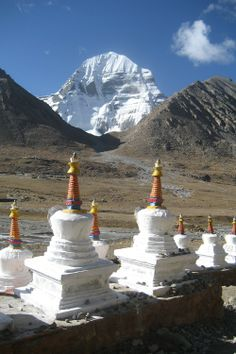 Mount Kailash by H. Moye. Mount Kailash & the Kingdom of Guge