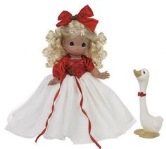 Precious Moments A Joyful Season Doll with Goose, 2013 just listed as Item PMC0937B at my main site at http://www.dkkdolls.com/store. Note: her stock no. at the Tias. site has also been corrected to be the same no. there.