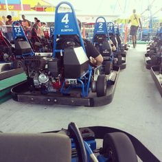 The big theme parks have the crowds, Fun Spot has the FUN! With two locations, Fun Spot has rides, food, and Go-Karts for so much less than the big boys. Great spot for a birthday celebration and no cost to park - compare that to the $10+ at the big parks.