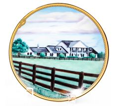 Online Gift Store, Online Gifts, Southfork Ranch, Plates, Classic, Collection, Licence Plates, Derby, Plate