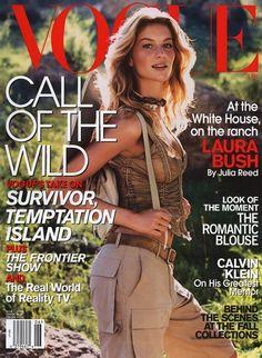 7e90477794cdc Vogue June 2001 by Steven Meisel Vogue Us, Vogue Korea, Anna Wintour, Steven