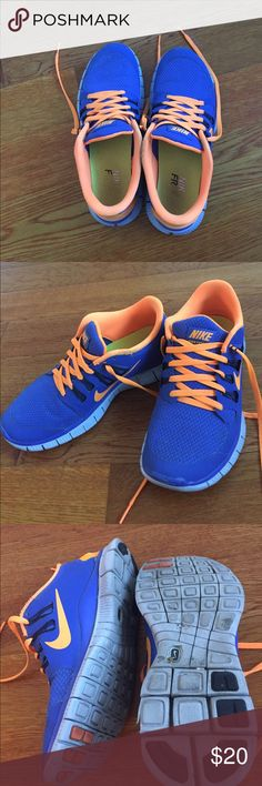 Nike free run Nike free run shoes | size 7.5 Nike Shoes Athletic Shoes