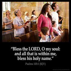 Psalm 103:1 KJV