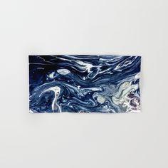 Wild Blueberry Swirl Hand & Bath Towel by StoneDreams53 | Society6