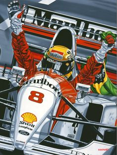 La Fórmula 1 es una pinturita