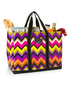 Take a look at this Stardust Zigzag 15'' Tote by Scout by Bungalow on #zulily today! $20 !!