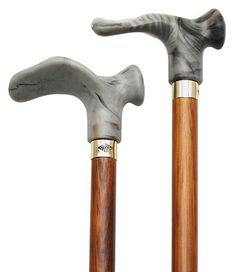 walking cane  With Contour Grip Walnut stain Grey Left Handle this cane is designed to fit the hand like a glove for its palm grip handle This cane and walking stick is very secure and comfortable and has a weight capacity of 250 pounds This ergonomic wood cane is ideal for arthritis sufferers It distributes weight across the entire palm Height approx 36  37  -- Click image to review more details.