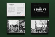 The Newman's - Eat, Dine & Whisky on Branding Served