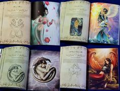 Mermaid Dreams Art Collection Print Book by Selina by selinafenech, $20.00