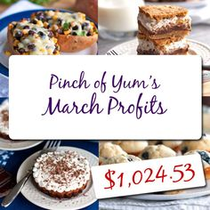 Making Money from a Food Blog - March Income Report