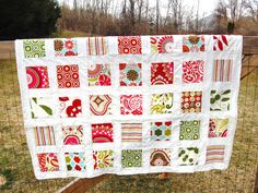 Kumari Garden Quilt Baby Toddler Lap size by WhirlyBirds on Etsy, $50.00