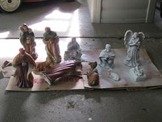 Christmas Nativity, Painting, Art, Art Background, Nativity, Painting Art, Kunst, Paintings, Performing Arts