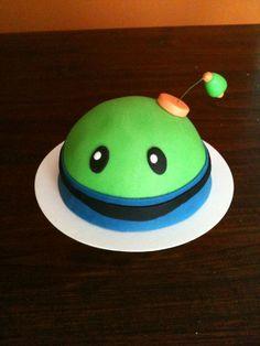 Team #Umizoomi cake - Bot - easy enough to make for Jon-Jon's 4th