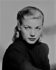 We Had Faces Then — gatabella:  Lauren Bacall, 1940s