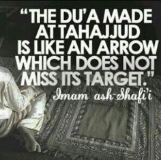Tahajjud Prayer has been an essential part of the lifestyle of Allah's devotee. One who wants to get the closest attention of Allah SWT. Islamic Qoutes, Islamic Teachings, Muslim Quotes, Religious Quotes, Muslim Sayings, Hadith Quotes, Ali Quotes, Allah Islam, Islam Quran