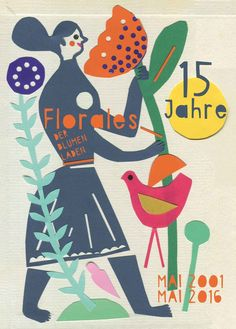 Postcard for Florales Flower Shop