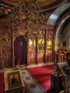 Να μην απελπίζετε κανένας ουδέποτε, για οτιδήποτε Beautiful Nature Pictures, Orthodox Icons, Priest, Catholic, Architecture, Byzantine Art, Christian Church, Dark Night, Instagram