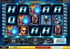 Who is your favourite #Marvel Hero? Play #Avengers slot on #777spinslot.com and choose your number one!